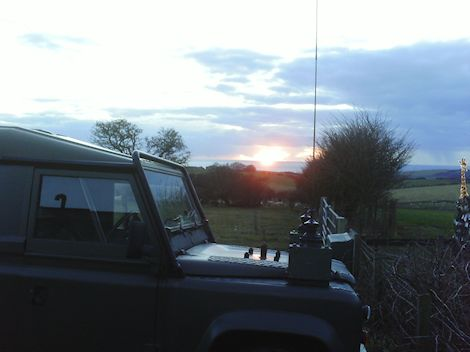 land rovers in the sun set.jpg